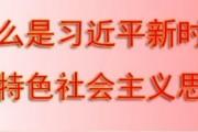 什么是习近平新时代中国特色社会主义思想?