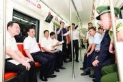 王君正调研轨道交通2号线建设工作 再接再厉 科学组织 积极推动现代轨道交通体系建设