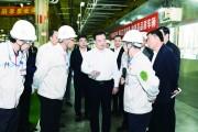 王君正到汽开区调研 坚持创新发展 提升服务水平 为长春市经济社会发展作出更大贡献