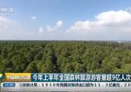 今年上半年全国森林旅游游客量超9亿人次