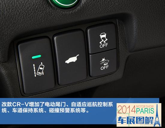CVT变速箱上身 新国产CR-V动力参数曝光