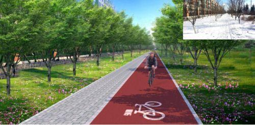 """日前,长春城市森林""""绿道""""2号线规划设计方案面向社会征求意见.图片"""