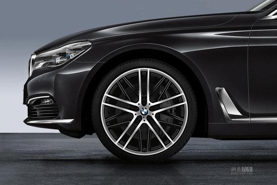 全新21寸轮毂 宝马推新一代7系M选装套件