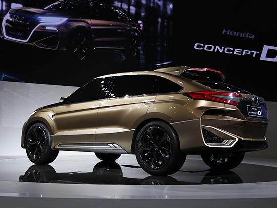 预展新歌诗图 本田Concept D概念车解码