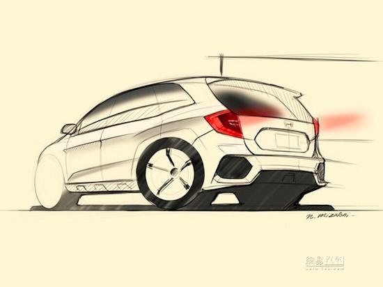有7座有混动 新一代本田CR-V设计图曝光
