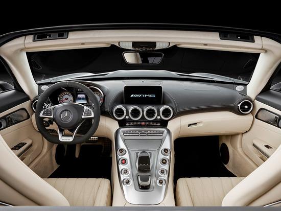 拉风猛兽 梅赛德斯-AMG GT敞篷版官图