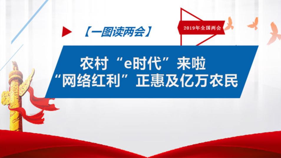 """【一图读两会】农村""""e时代""""来啦 """"网络红利""""正惠及亿万农民"""