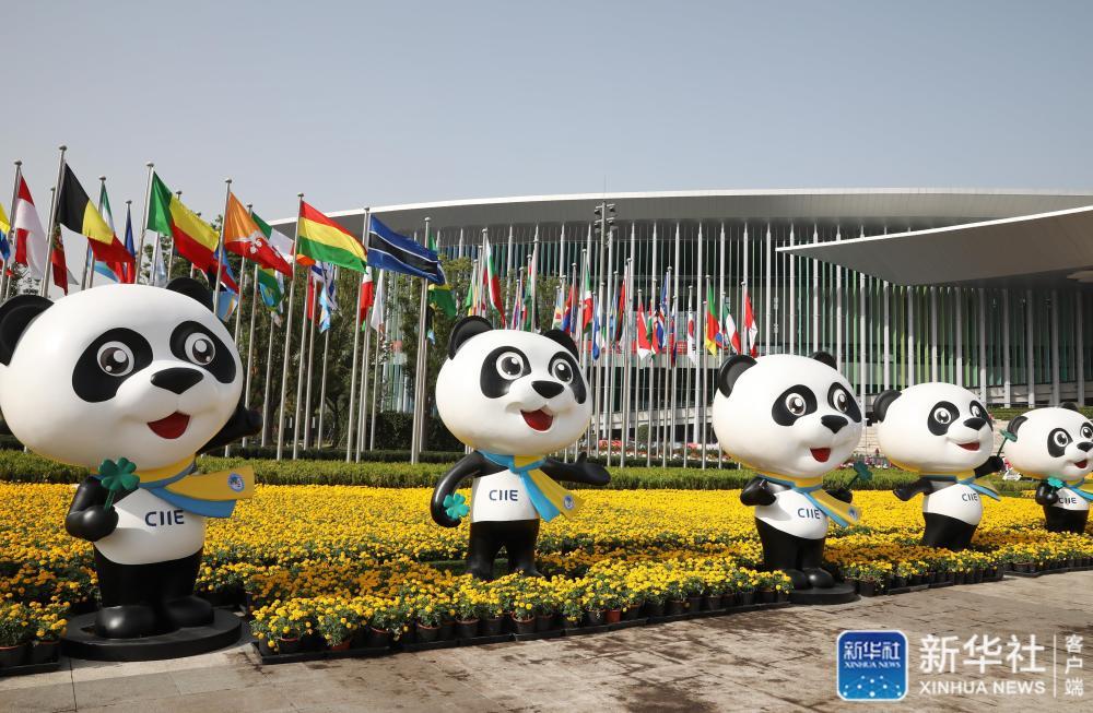 """上海国展中心""""内外兼修"""" 迎接进博会"""