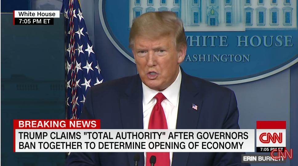 """视频丨我打脸我自己?美国白宫顾问""""反咬""""各州复工过早"""