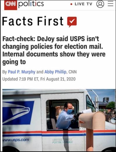 北美观察丨你究竟怎么搞砸的?!关乎大选,美参众两院问责邮政局长