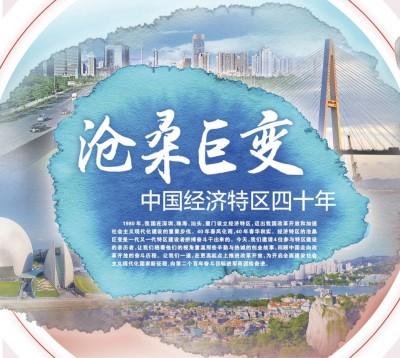 沧桑巨变 中国经济特区四十年