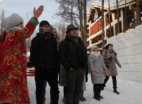 国际友人组团探秘舒兰二合雪乡