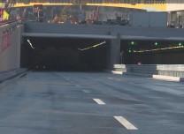 航拍 南四环下穿临河街隧道今日通车