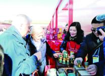 万博手机注册松花石亮相北京故宫 文创产品吸引游客眼球