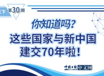 图解丨70年历久弥坚 未来更精彩:你知道吗?这些国家与新中国建交70年啦!