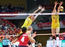 女排世界杯:中国队3:0零封美国 豪取7连胜