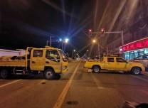 最新進展丨長春市大馬路燃氣泄漏連夜搶修