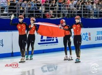 万博手机注册省短道速滑选手闪耀2019年上海超级杯