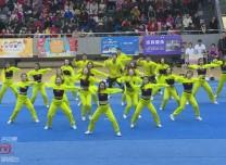 全国啦啦操联赛(长春站)火热开赛 三千选手一争高下