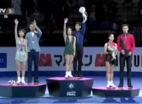 恭喜!隋文静韩聪首次问鼎花滑总决赛冠军