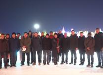 长春市汽开区邀请一汽外方员工领略吉林冰雪文化
