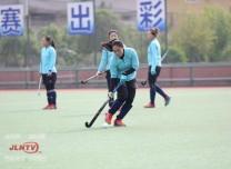 吉林省女子曲棍球隊防疫訓練兩不誤