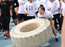 体育强省建设进行时 重竞技中心举办体能大比武活动