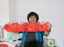 非物質文化遺產豐寧滿族剪紙傳承人石俊鳳工作室落戶長白山池南區