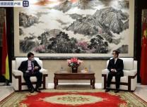 非工統總書記高度贊賞中國大力馳援非洲抗擊疫情