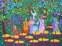 畫說秋分時,喜迎豐收節