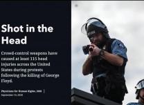 北美觀察丨專挑腦袋打 美國警察暴力狠手遭曝光