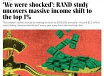 北美觀察丨50萬億被竊取 蘭德公司揭露美國1%富豪暴掠社會財富