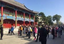 國慶假期長春文廟迎來了接待游客高峰期,平均每天客流千人以上