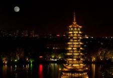 中秋國內游人次破億 舉家賞月帶動夜游經濟