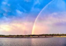 查干湖:秋水連長天 晚霞映紅日 人人向往的夢中天堂