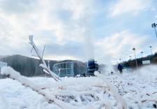 開板倒計時!吉林省各地雪場啟動造雪模式