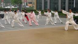 省首屆社區太極拳比賽在東北師范大學綜合體育館落幕