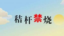 吉林省2018年秋冬季秸稈禁燒工作方案
