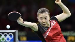 日本乒乓球选手福原爱宣布退役
