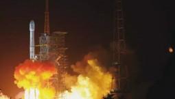 中国成功发射北斗三号系统首颗倾斜地球同步轨道卫星