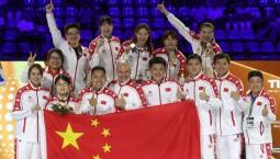 一剑绝杀!击剑世锦赛中国女子重剑问鼎团体金牌