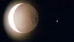 水星西大距和木星合月兩大天象同于10日現身天宇
