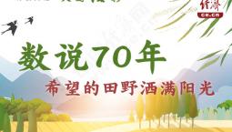 【评新而论·大国经彩】数说70年,希望的田野洒满阳光