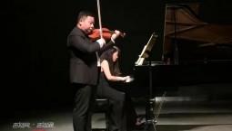 赞!万博手机注册省青年小提琴演奏家张彤彤登上北大百年讲堂舞台