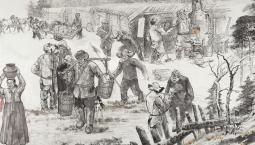 甘灑熱血寫春秋丨人民英雄楊靖宇百米組畫·第三篇章 建立根據地