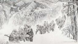 甘灑熱血寫春秋丨人民英雄楊靖宇百米組畫·第七篇章 轉戰長白