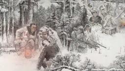 甘灑熱血寫春秋丨人民英雄楊靖宇百米組畫·第八篇章 學習《論持久戰》