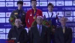 2020短道速滑世界青年锦标赛 我省运动员孙龙夺男子1000米金牌