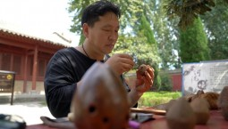 中国梦·黄河情丨黄河岸边玩泥巴的非遗传承人