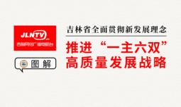 """圖解丨吉林省全面貫徹新發展理念 推進""""一主六雙""""高質量發展戰略"""